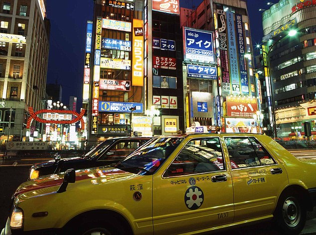 Taxi di Jepang