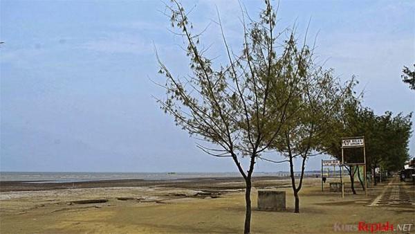 Pantai di Karawang
